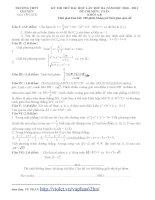 đề thi thử đại học môn toán có đáp án năm 2011 chuyên nguyễn huệ hn