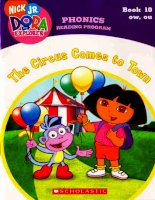 the circus comes to town phonics reading program