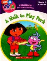 a walk to play park phonics reading program