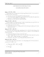 một số bài toán hình học ôn thi vào lớp 10 chuyên toán
