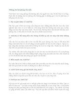câu hỏi phỏng vấn xin việc
