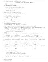 Phương pháp giải bài tập Amin - Amino axit - Protit
