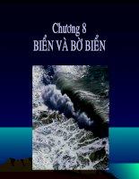 bài giảng địa chất đại cương chương 8 biển và bờ biển