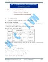 Tóm tắt công thức và lý thuyết hóa học lớp 11