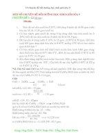 Tuyển tập các chuyên đề bồi dưỡng học sinh giỏi hóa học 9