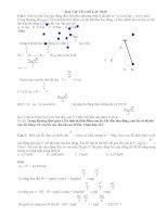 Bài tập trắc nghiệm con lắc đơn  Giải chi tiết con lắc đơn ôn thi đại học