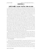 LUẬN VĂN THẠC SĨ NGÀNH ĐIỆN ĐIỆN TỬ MẠNG THÔNG TIN QUANG