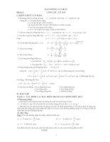 Các chuyên đề vật lý 12 luyện thi ĐH
