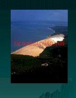 bài giảng địa chất đại cương chương 9 tác dụng địa chất của gió