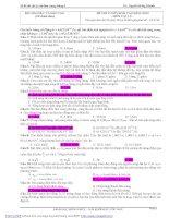 20 Đề thi Vật Lý có đáp án  Tài liệu ôn thi ĐH