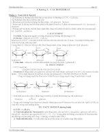 Tóm tắt lý thuyết và bài tập Cacbohidrat