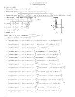 Luyện thi đại học môn vật lý chuyên đề dao động cơ học