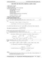 Chuyên đề tích phân Luyện thi đại học môn toán