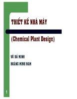 Bài giảng thiết kế nhà máy đại học quốc gia Hồ Chí Minh