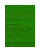PHẠM TRÙ BẢN CHẤT VÀ HIỆN TƯỢNG TRONG TRIẾT HỌC CỦA KARL MARX