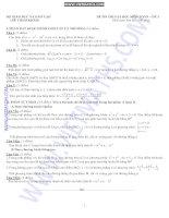 30 đề thi thử đh môn toán có đáp án