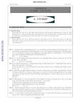 Chương 2 Tổ hợp,Xác suất