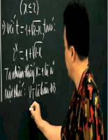 Quan hệ vuông góc  thầy Lê Bá Trần Phương