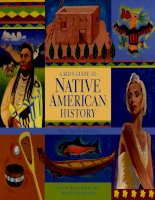 a kid guide to native american history