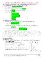 Bài tập công suất và hệ số công suất Điện xoay chiều có lời giải
