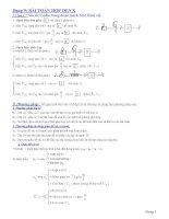 Bài toán hộp đen trong điện xoay chiều