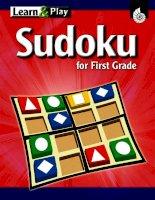 sudoku for first grade