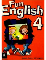 fun english 4 pupil''s book