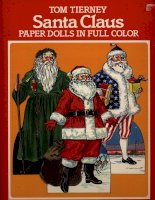 santa claus paper dolls in full color