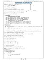 Luyện thi đại học chuyên đề hình tọa độ không gian