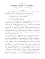 CHUYÊN ĐỀ 2 QUY TRÌNH LẬP VÀ ĐIỀU CHỈNH QUY HOẠCH, KẾ HOẠCH SỬ DỤNG ĐẤT CẤP HUYỆN