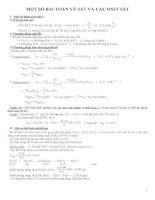 Bài toán về sắt và oxit có đáp án chi tiết