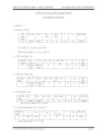 đồ án môn học nền móng-thống kê địa chất công trình xí nghiệp việt phó