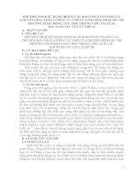 PHƯƠNG PHÁP sử DỤNG ĐỊNH LUẬT bảo TOÀN cơ NĂNG và CHUYỂN hóa NĂNG LƯỢNG ưu THẾ của PHƯƠNG PHÁP SO với PHƯƠNG PHÁP ĐỘNG lực học TRONG VIỆC GIẢI vật lý 10