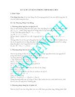 Tổng hợp 12 phương pháp cân bằng phương trình hóa học