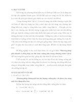 Phương pháp giải nhanh và tổng hợp các bài toán vuông pha trong chương trình vật lý 12