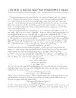 Cảm nhận của em về người lính trong bài thơ Đồng chí