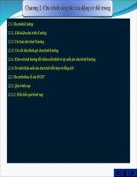 Bài giảng slide Nguyên lý động cơĐại học  Chương 2. Chu trình công tác của động cơ đốt trong