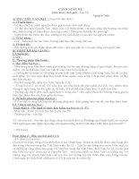 Giáo án Ngữ văn 10  Cảnh ngày hè