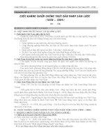 Tài liệu Lịch Sử Việt Nam giai đoạn 1858 đến 1919