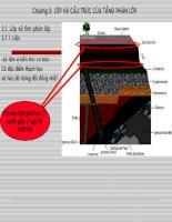bài giảng địa chất cấu tạo chương 2 lớp và cấu trúc của tầng phân lớp