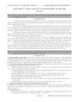 Tài liệu Lịch Sử 12 Phần Lịch Sử Việt Nam (Chuẩn và Nâng cao)