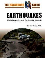 the hazardous earthquakes