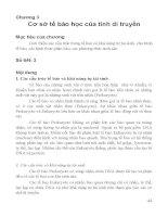 Chương 3 cơ sở tế bào học của tính di truyền (bộ môn di truyền học)