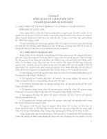 Chương 2 tổng quan về nguồn nước có liên quan đến sử dụng đất (bộ môn quản lý nguồn nước)