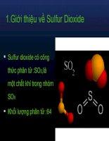xử lý khí so2(slide)