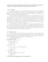sử dụng phương pháp lượng giác hoá để giải phương trình, bất phương trình và hệ phương trình vô tỉ