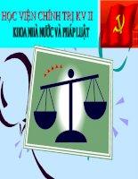 slide bài giảng pháp luật đại cương vi phạm pháp luật và trách nhiệm pháp lý