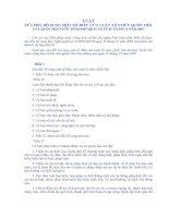 luật sửa đổi, bổ sung một số điều của luật tổ chức quốc hội
