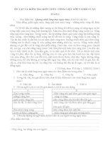 ÔN tập và KIỂM TRA KIẾN THỨC TIẾNG VIỆT lớp 5 THEO TUẦN ( tuần 1 đến tuần 18)