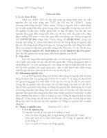động từ nguyên thể, danh động từ và các dạng bài tập liên quan
